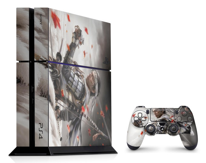 PS4 SKIN Ghost Of Tsushima for PS4 Fat PS4 Pro PS4 Slim & DualShock PS4 Controller