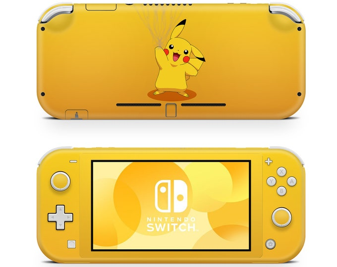 PIKACHU POKEMON Nintendo Switch Lite skin vinyl protection & decal