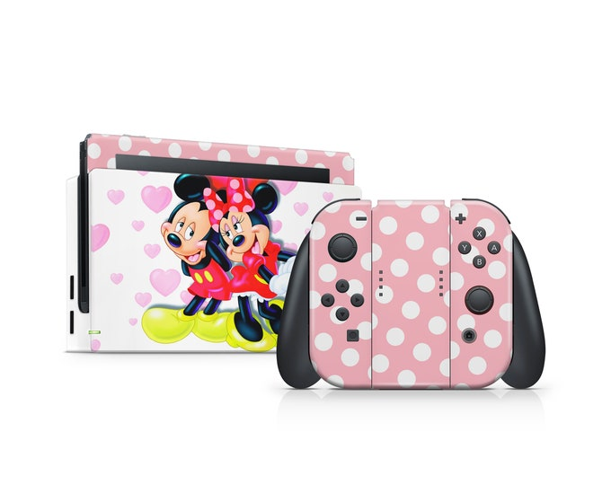 Minnie Mouse Nintendo Switch Skin Protect