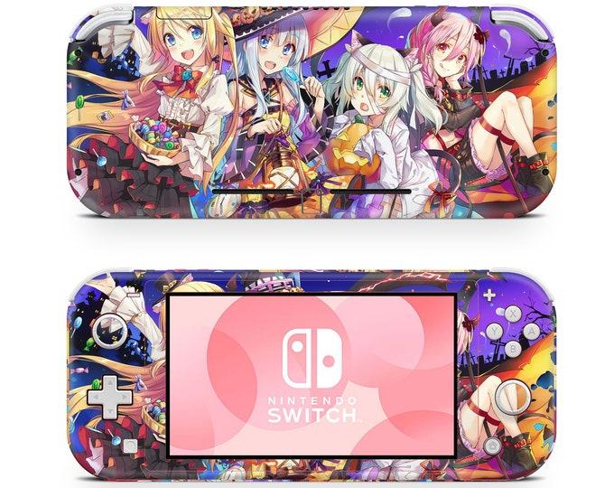 Anime 4 Nintendo Switch Lite skin vinyl decal