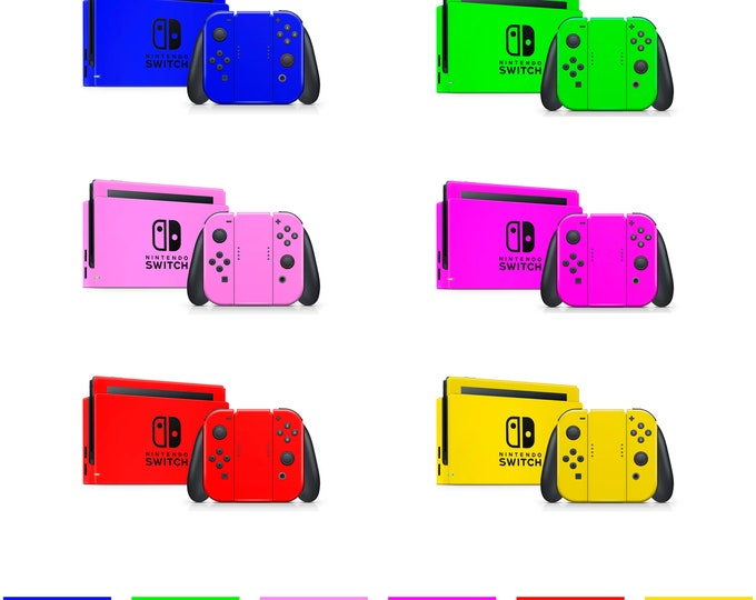 Color motive Nintendo Switch Skin Protect Decal Vinyl Wrap