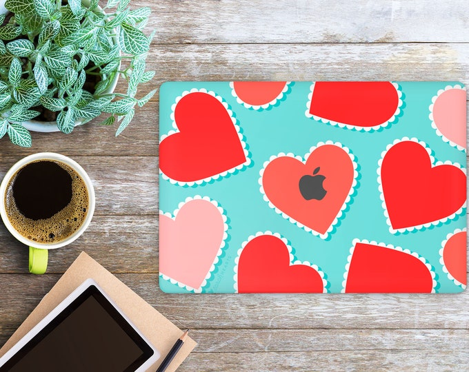 APPLE MACBOOK Heart Design SKINS vinyl decal cover for all body laptop protection