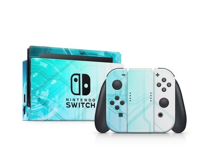 Nintendo Switch Skin Blue motive vinyl decal protection
