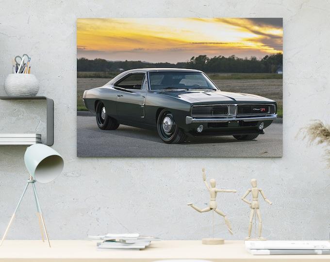 Satın Al Serin Muscle Car Canvas | Art Canvas | Wall Art Canvas | Framed Painting | Home Wall Decor | Bedroom Canvas | Canvas Printing Art