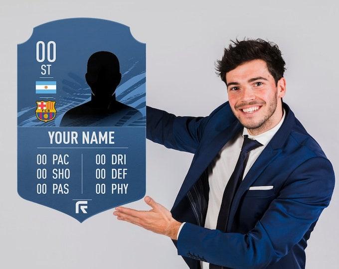 FIFA Ultimate Customized Team card &2 | FIFA Team card | Personalized Football Card | Custom FIFA Ultimate Team Card | Personalized Gifts
