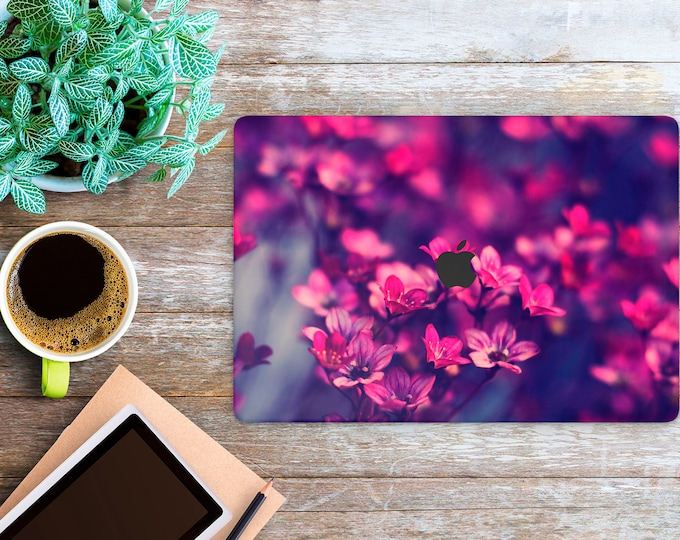 APPLE MACBOOK Flowers SKINS vinyl decal cover for all body laptop protection