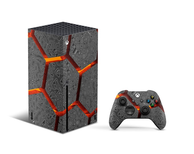 VOLCANO Skins Xbox Series X Dollars theme Full Body Cover and Controller