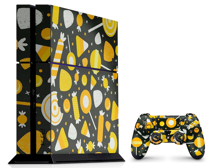 PS4 SKIN CANDY for PS4 Fat PS4 Pro PS4 Slim & DualShock PS4 Controller