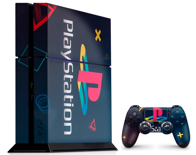 PS4 SKIN SIGNS for PS4 Fat PS4 Pro PS4 Slim & DualShock PS4 Controller