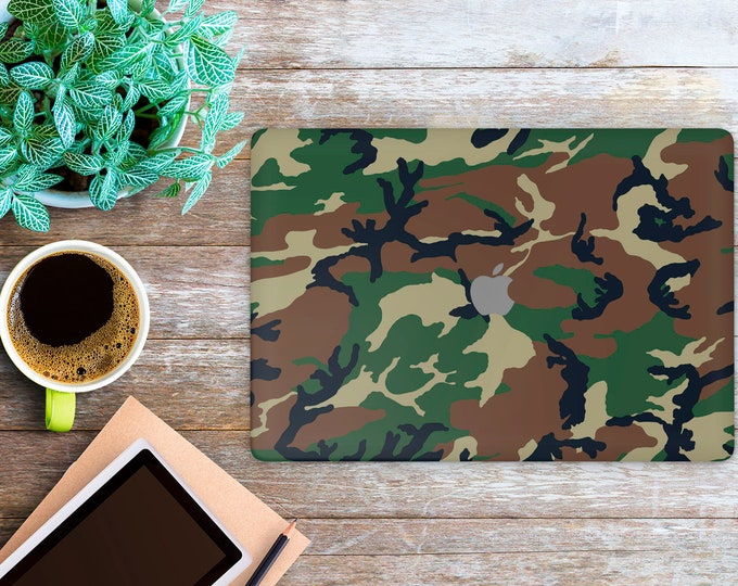 APPLE MACBOOK Camo SKINS vinyl decal cover for all body laptop protection