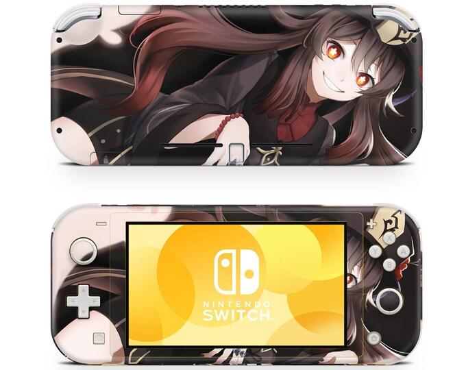 Anime 5 Nintendo Switch Lite skin vinyl decal