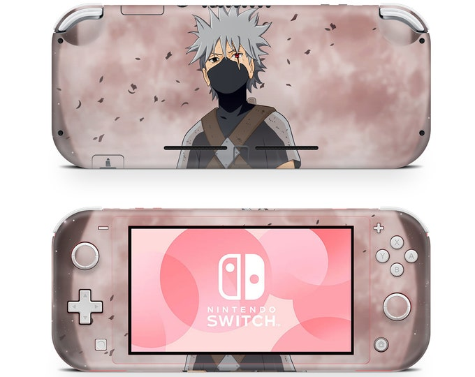 KAKASHI HATAKE - Nintendo Switch Lite skin vinyl protection & decal