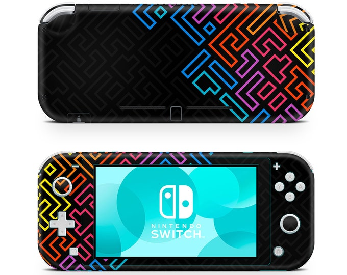 NINTENDO SWITCH LITE skin Colored Lines