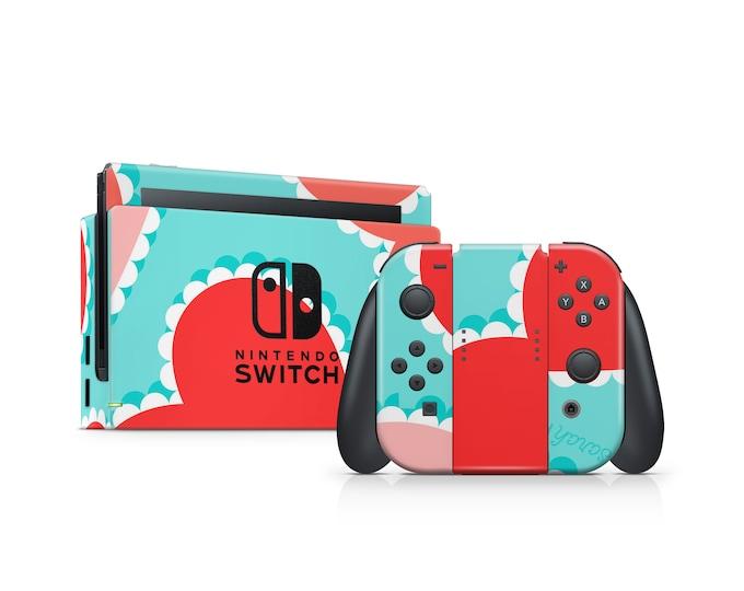 Nintendo Switch Heart theme Skin wrap decal vinyl Protect