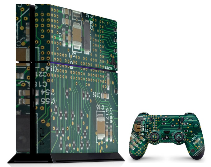 PS4 SKIN ELETRIC for PS4 Fat PS4 Pro PS4 Slim & DualShock PS4 Controller
