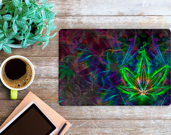 APPLE MACBOOK Cannabis SKINS vinyl decal cover for all body laptop protection