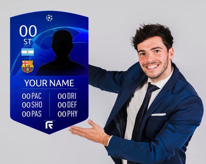FIFA Card Customized Ultimate Team Card &1