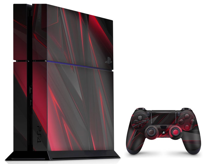 PS4 SKIN POLYGON for PS4 Fat PS4 Pro PS4 Slim & DualShock PS4 Controller