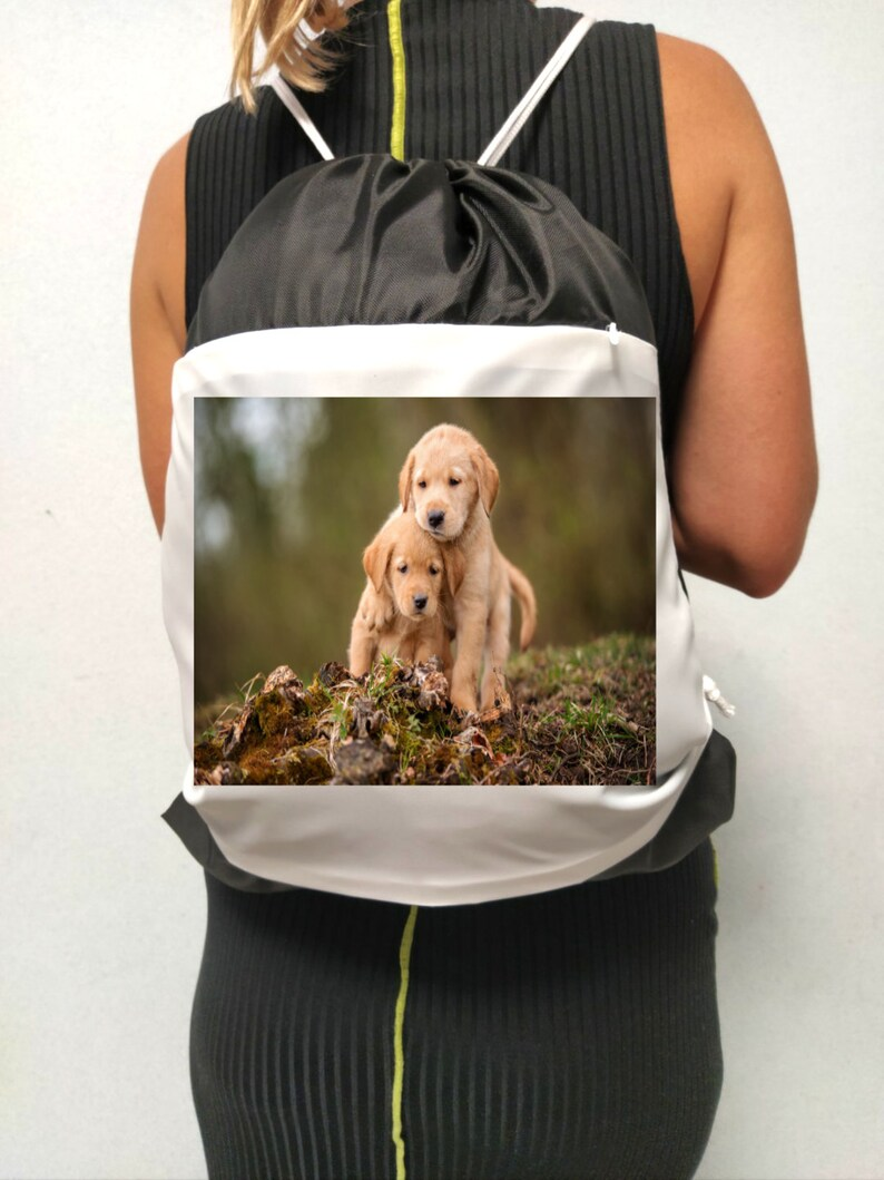33 Centimeters x 41 Centimeters Unisex backpack is ideal for walking with dogs and for those who love dogs 100/% Polyester