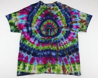 Adult XL Pastels Spider Ice Tie Dye Shirt
