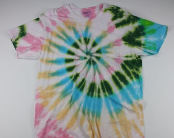 Adult 2XL Pink, Green & Other Things  Tie Dye Shirt
