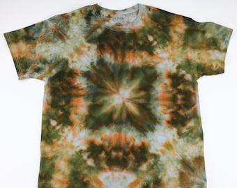 Adult XL Shining Square Ice Tie Dye Shirt