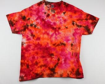 Adult XL Fire & Brimstone Ice Tie Dye Shirt
