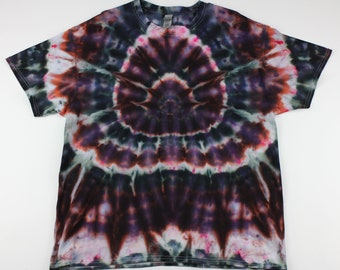 Adult XL Spider in the Pinks Ice Tie Dye Shirt