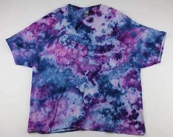 Adult 3XL Berries & Cream Crumple Ice Tie Dye Shirt