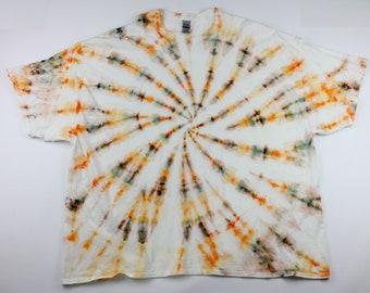 Adult 5XL Sands & Sun Swirl Ice Tie Dye Shirt
