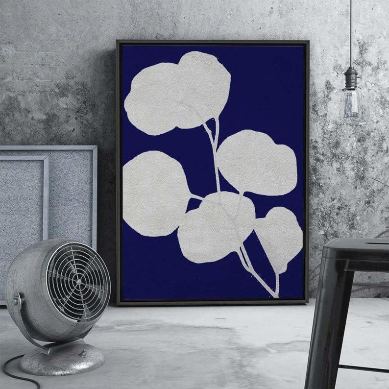 signwin Framed Canvas Wall Art Flowers Pattern Canvas Prints Home Artwork Decoration for Living Room,Bedroom