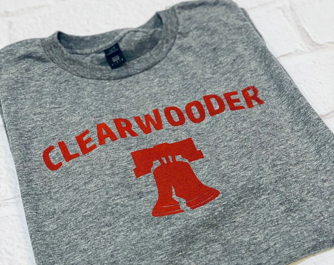 Clearwater- Spring training - Clearwooder- Philly tee