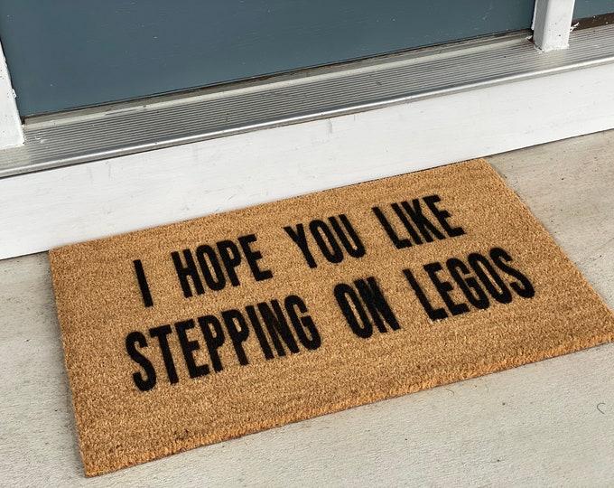I Hope You Like Stepping on Legos