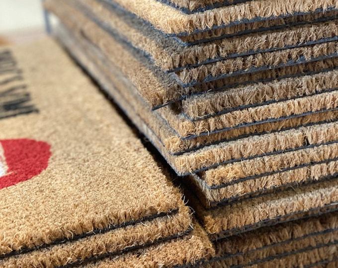 Custom listing- custom doormat housewarming gift- man cave decor- funny doormat
