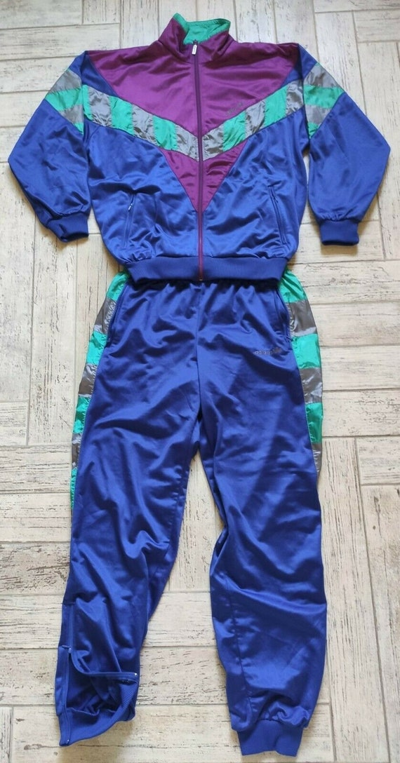 Vintage Adidas Track Suit 80's NOS 50 Large