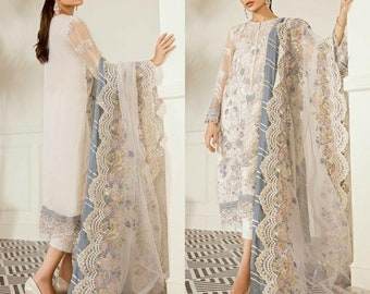 Made to Order Pakistani Indian Wedding Dresses Embroidered Lehnga Collection Latest Eid Style Party Wear Clothes Shalwar Kameez Suits USA UK