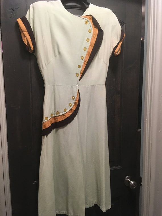 Toni Todd vintage dress