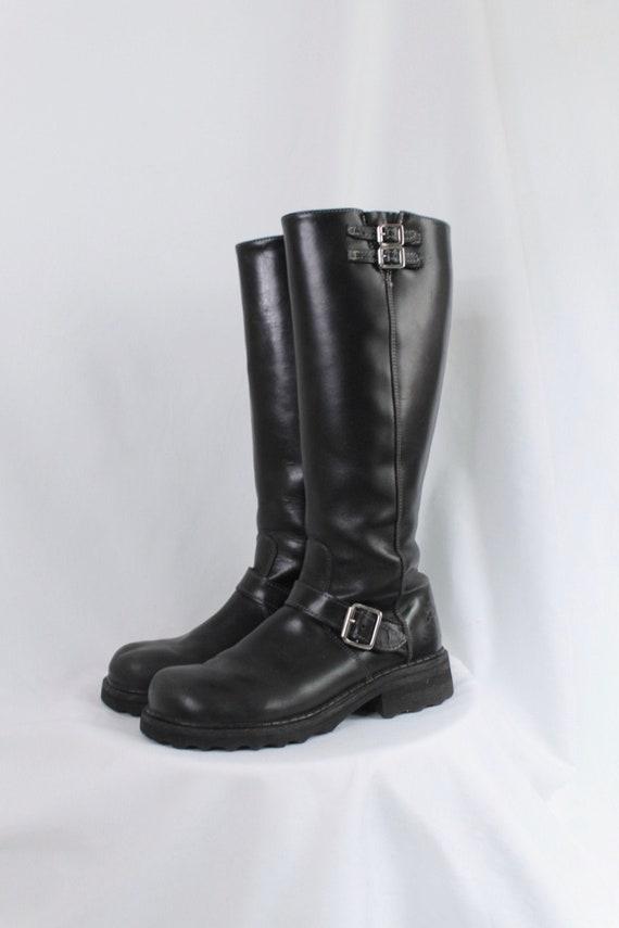 John Fluevog 'Bond Girl' Knee High Boots - Size 9.