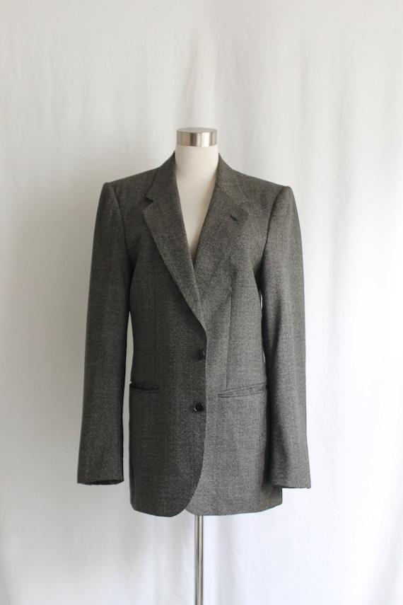 Lanvin Oversized Wool Blazer - Size ~M