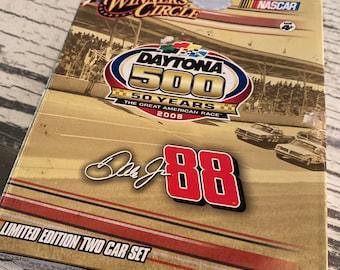 Winners Circle Daytona 500 50 Yrs Dale Jr 88 Limited Edition 1:64 2 Car Set 2008
