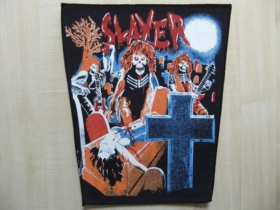 Megadeth Live Undead Rückenaufnäher Backpatch