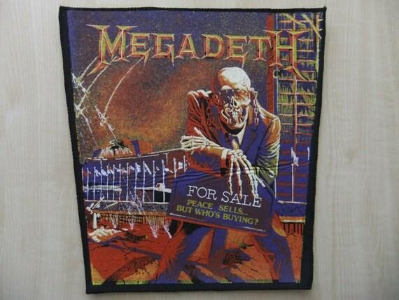 Megadeth Peace Sells... Rückenaufnäher Backpatch
