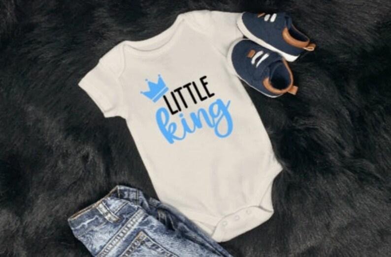 Little King Onesie Baby Onesie Little Mister Onesie Little Miss Onesie Baby Shower Gift Baby Related Baby Gift