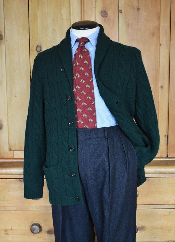 Polo Ralph Lauren Shawl Collar Cable Knit Cardigan