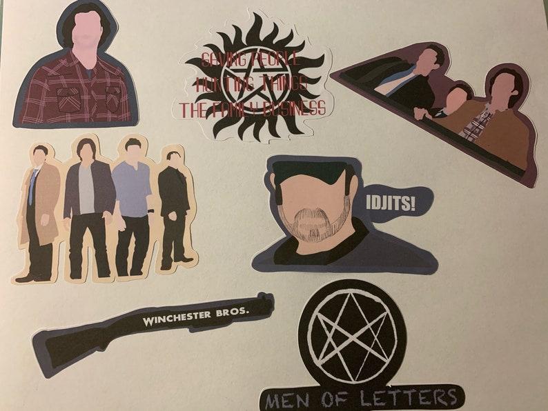 Supernatural Stickers or Magnet Pack