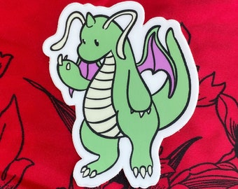 Shiny Dragonite Sticker