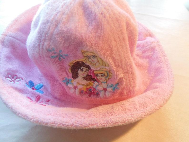 Disney Pink Girls Casual Dress Hat Cap Cotton Winter Fall Casual Accessories