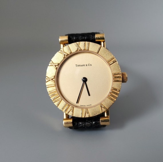 Vintage Tiffany & Co. Atlas 18K Gold Watch - Fine