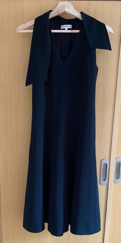 Black midi Pin Up dress