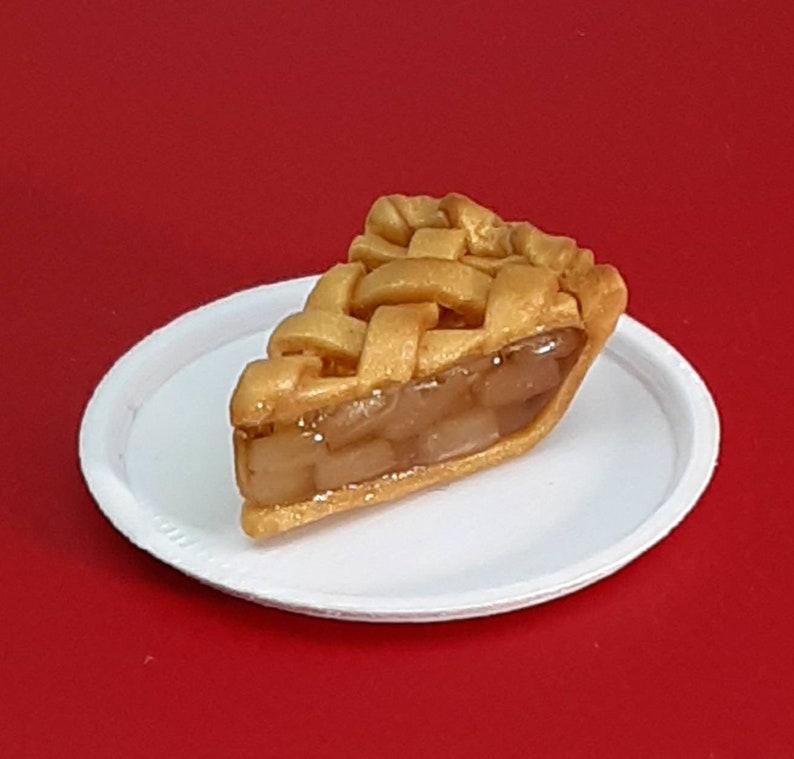 Apple Pie Slice  1:6 Scale Food  For Barbie Blythe Pullip image 0
